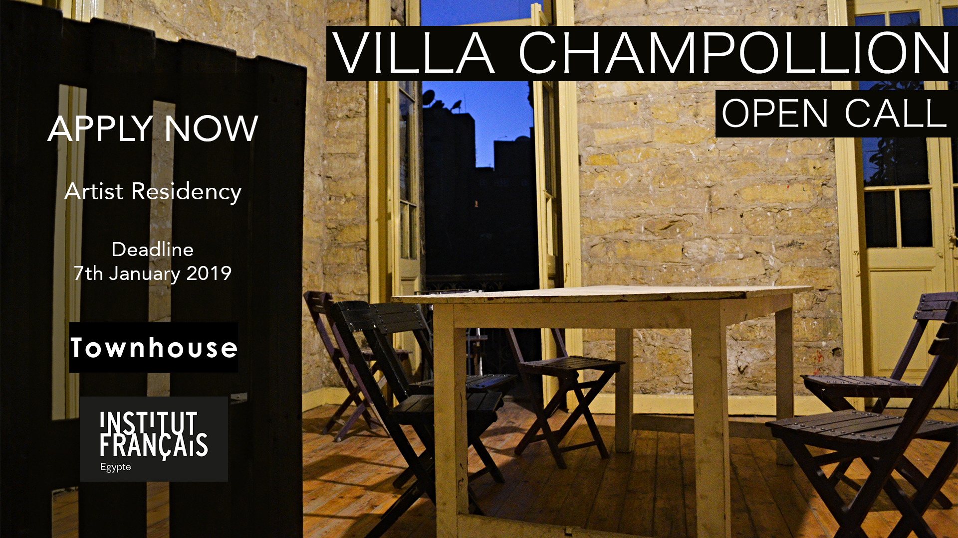 ART RESIDENCY | Villa Champollion